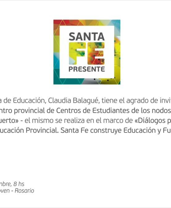 Encuentro Provincial de Centros de Estudiantes de nodos Rosario y Venado Tuerto